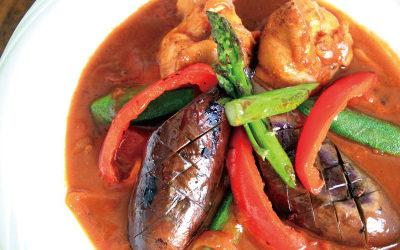 夏野菜の簡単スープカレー